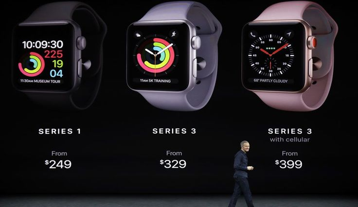 Apple Watch Series 3 Watch Comes With Built-In Cellular And Other Capabilities