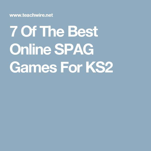 7 Of The Best Online SPAG Games For KS2