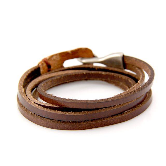 Мужской кожаный браслет.  http://ali.pub/9x234 US $3.75 (6% off) #aliexpress #алиэкспресс #bracelet #bangle