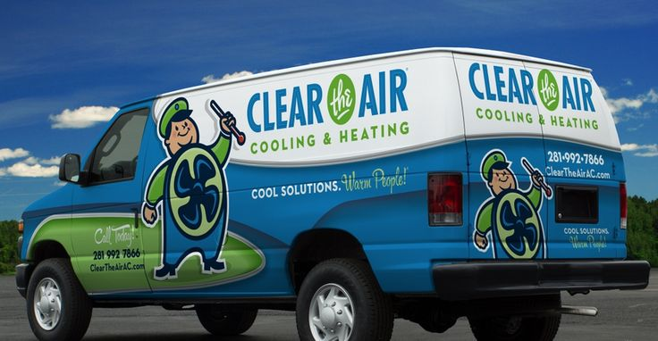 Vehicle wrap design for a HVAC company in Texas. - NJ Advertising Agency, NJ Ad Agency, NJ Web Design, NJ Logo Design, Website Design New Jersey, NJ Graphic Designer, New Jersey Logo Design, Graphic Design NJ | Graphic D-Signs, Inc. #truckwraps #advertising #design #graphicdesign #logo #branddevelopment #vehiclewraps