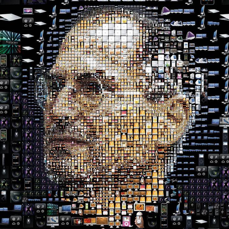 Steve Jobs Apple iPad Wallpaper