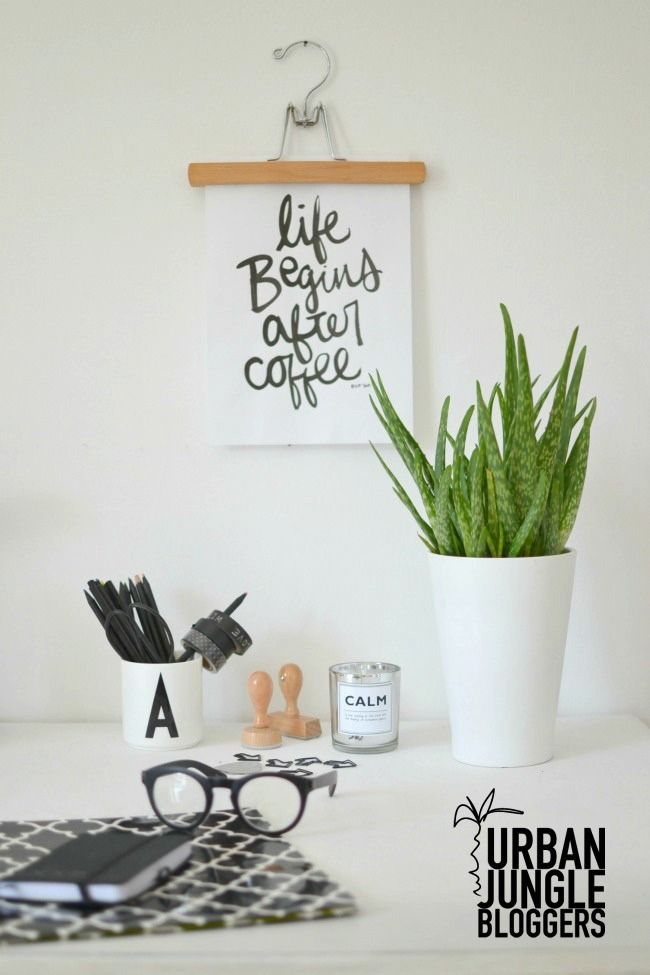 Urban Jungle Bloggers: Plants on the Workplace by @look33