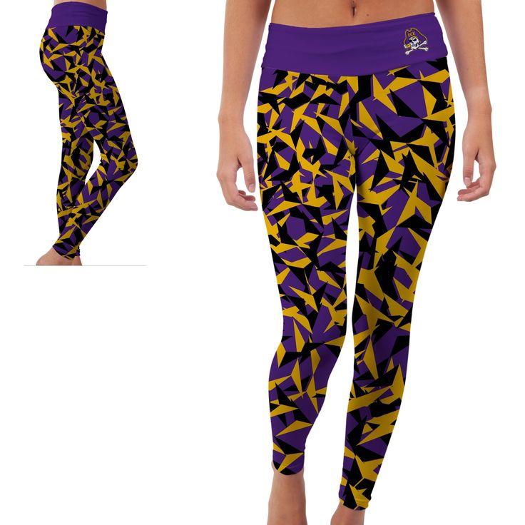 East Carolina University ECU Pirates Womens Yoga Pants Origami Design | MadeLoyal