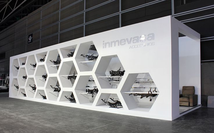 Stand Feria. Your exhibit is an extension of your companies personality, so don't be square.