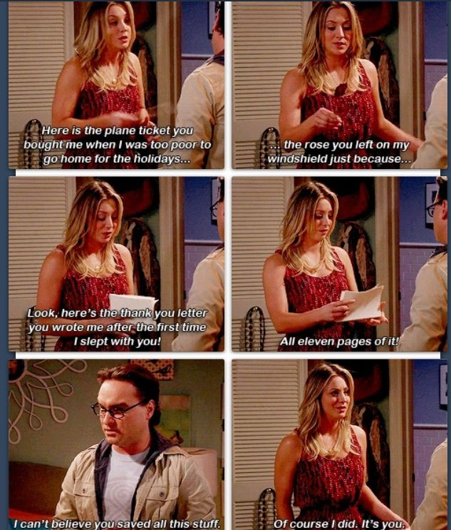 The Big Bang theory which episode is this @Kerry Lyn Essig ???? I neeeeeeed to knooooooow