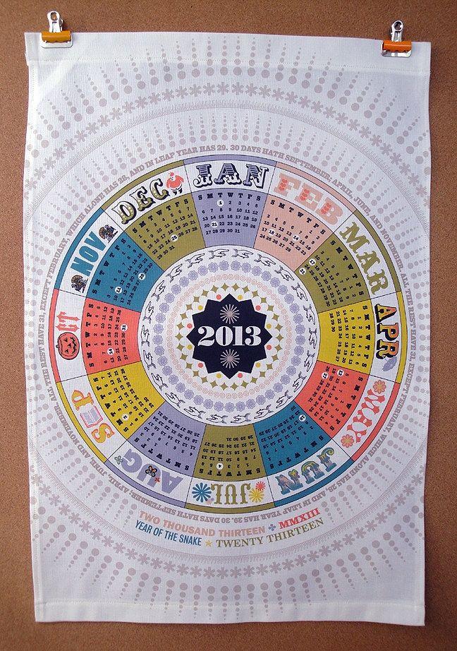 Retro Calendar Design : Best images about calendarios creativos on pinterest