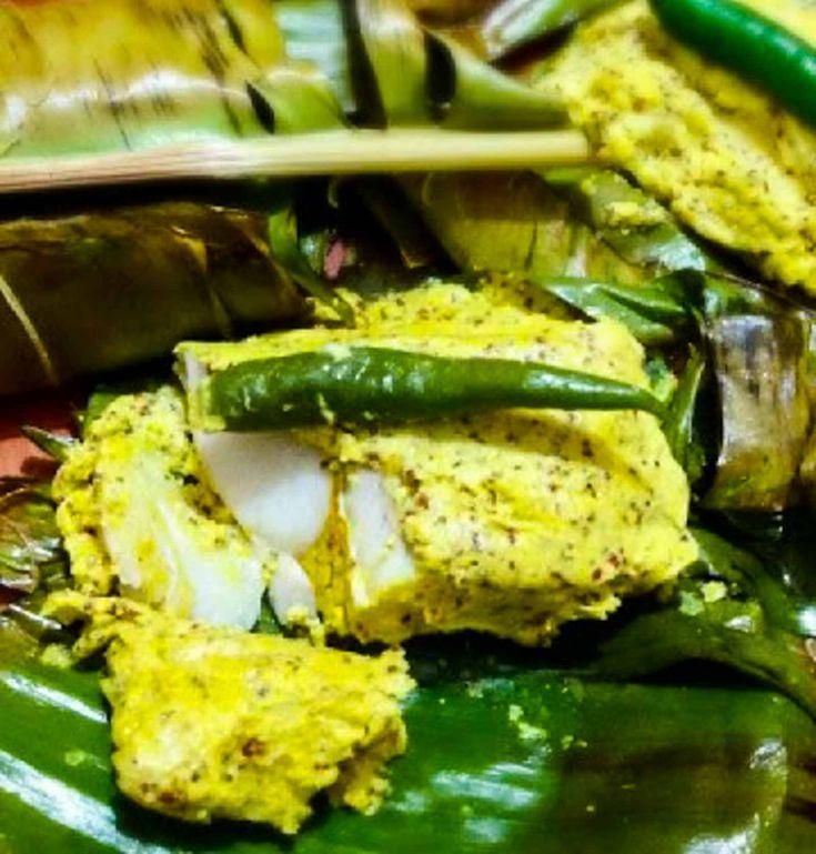 Bengali Bhetki Macher Paturi Recipe (Barramundi Fish Wrapped in Banana Leaf)
