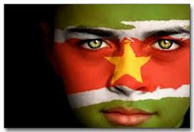 Suriname Flag Boy Capital: Paramaribo