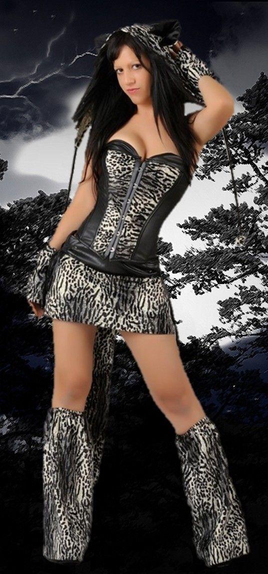 Disfraz de tigresa para carnavales. Descubre las mejores opciones en disfraces para carnavales.