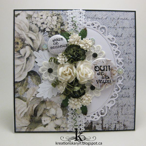 Card for Scrap Fimo & Cie - June 2016
