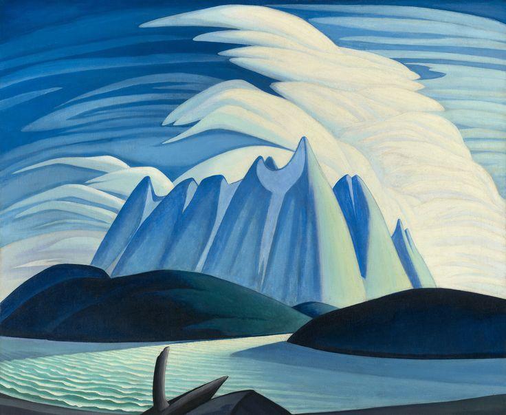 Lake and Mountains by Lawren Stewart Harris