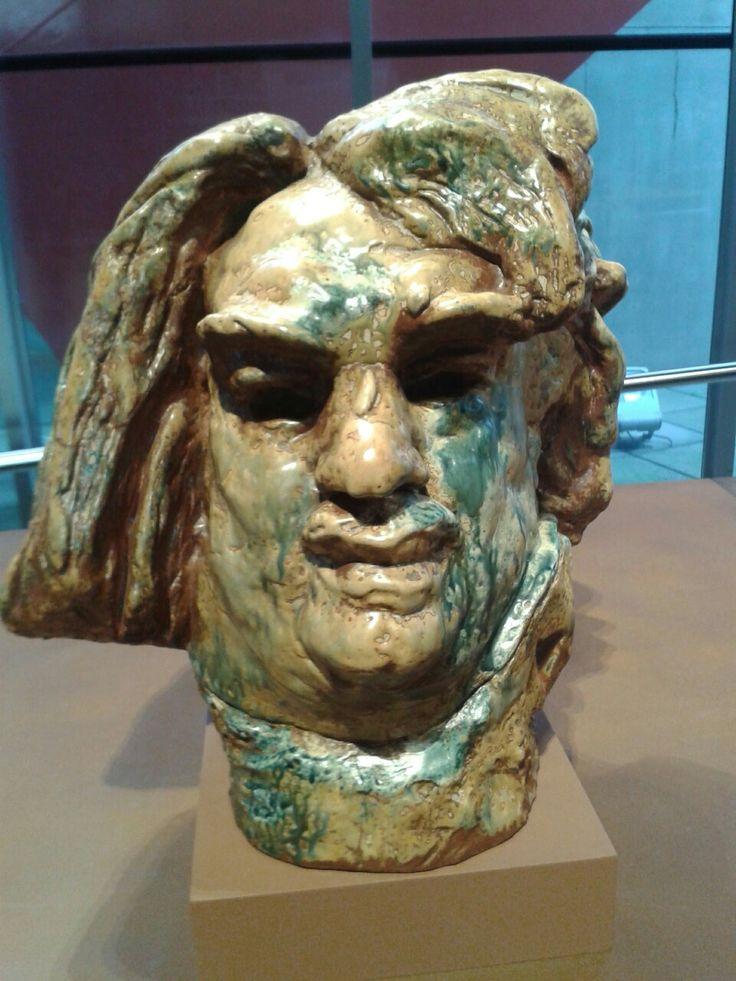 Rodin ( hoofd van Balzac) Groninger Museum