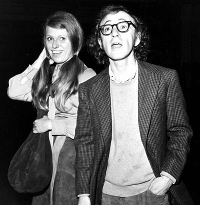 Woody Allen and Louise Lasser    Allen doesn't seem to hold grudges. After his divorce from Lasser, he still cast her in four of his films: Take the Money and Run, Bananas, Everything You Always Wanted to Know About Sex (But Were Afraid to Ask), and Stardust Memories.