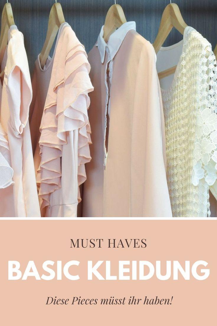Basic Kleidung: Diese Kleidungsstücke müsst ihr haben! – Christine