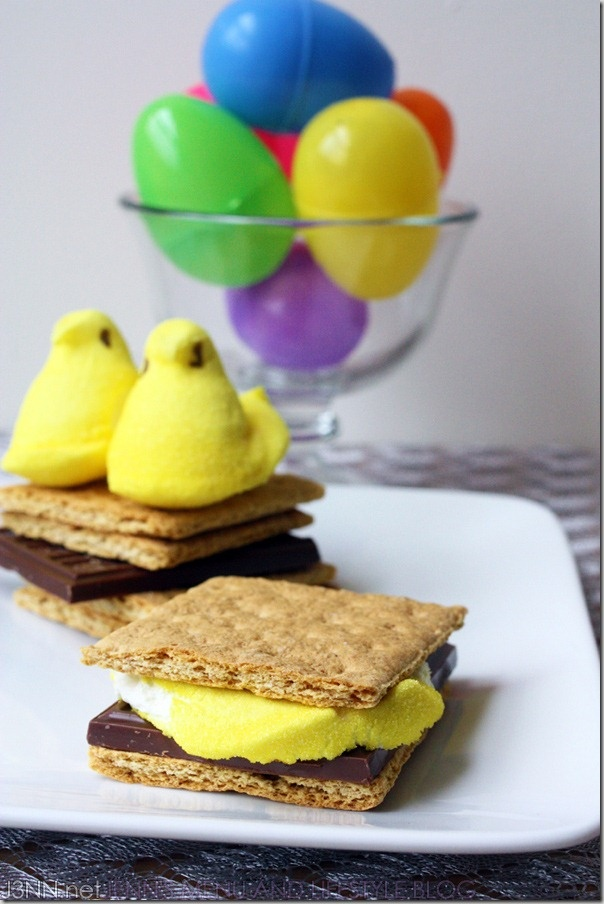 Smores:  The Easter Version with Peeps.