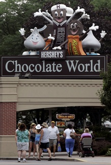 Hershey Chocolate Factory in Hershey, PA
