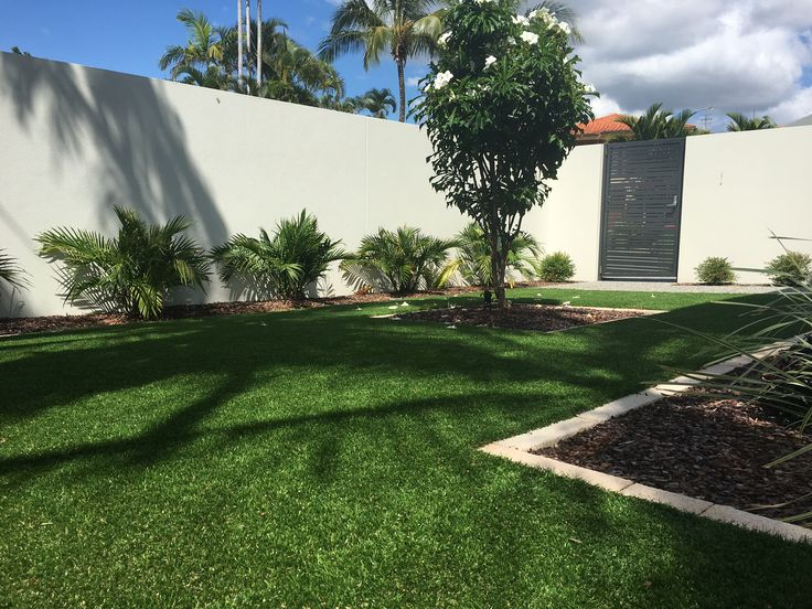 Artificial grass or synthetic grass as it is also commonly known is the premium life style choice for a low maintenance lawn that will not require watering. Island Block & Paving's Artificial Grass is made of the highest quality artificial fibres, providing you with luxurious, green grass all year around.