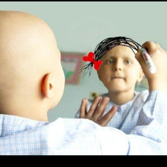 Cancer:(: Little Girls, Drawings Hair, Fight Cancer, Childhood Cancer, My Heart, Cancer Patient, Photo, So Sad, Kid