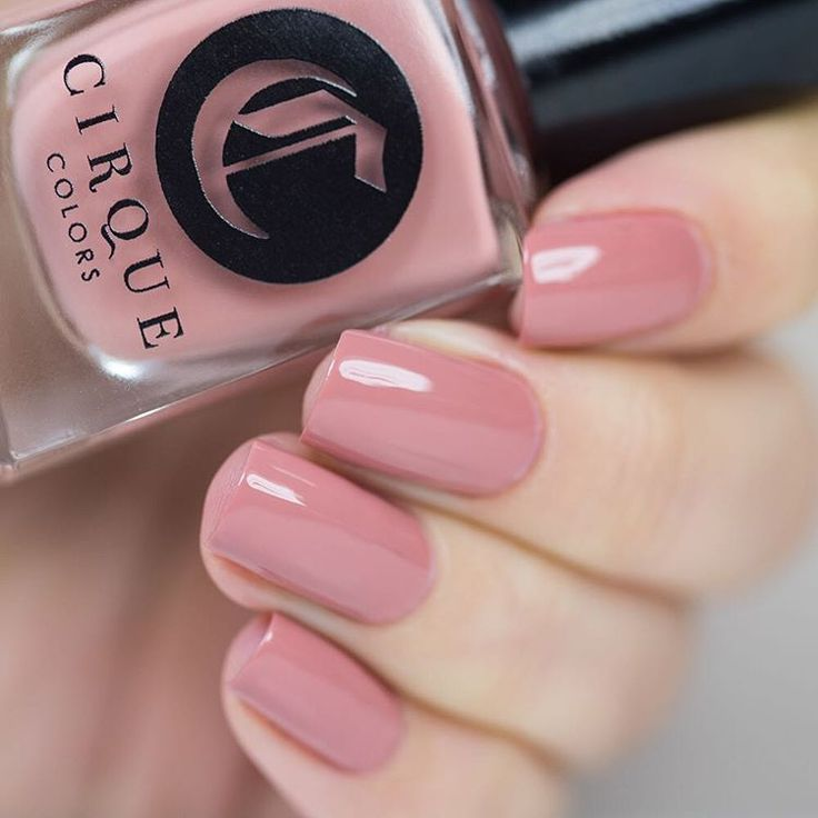 faux ongles rose poudre