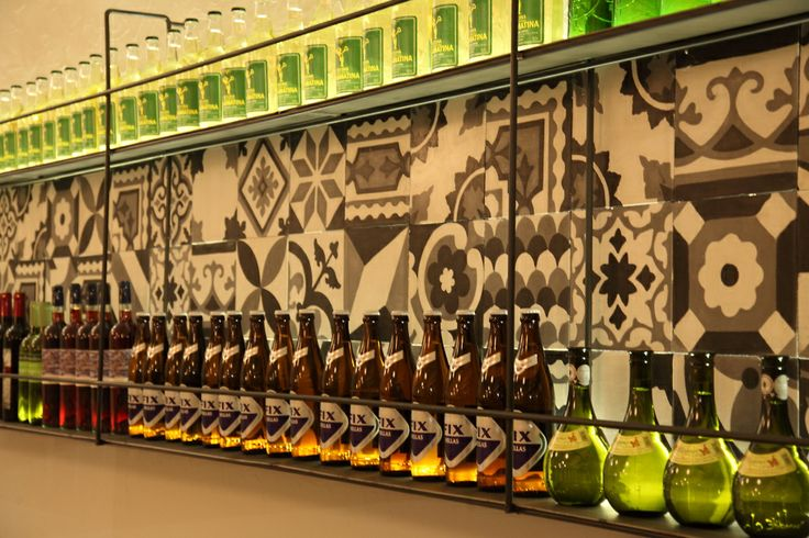 Greek-kitchen restaurant detail /  Athens Greece /  interior designer Sissy Raptopoulou