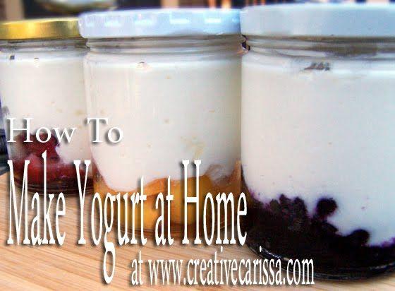 how to do homemade yogurt in a crockpot