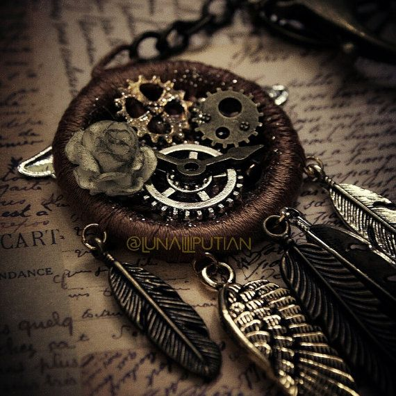 Ex Machina Steampunk Dreamcatcher | Dreamcatcher ...