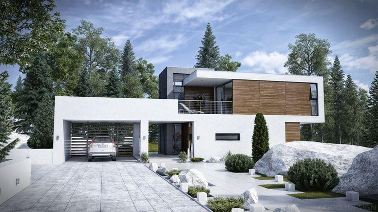 modern houses | Modern house exterior