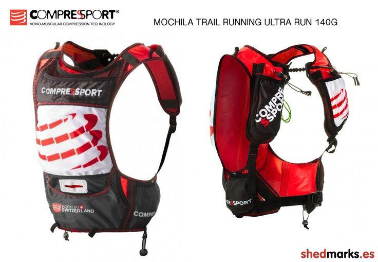 Mochila Trail Running Compressport Ultra Run 140g http://www.shedmarks.es/mochilas-trail-running/3233-mochila-compressport-ultra-run-140g.html