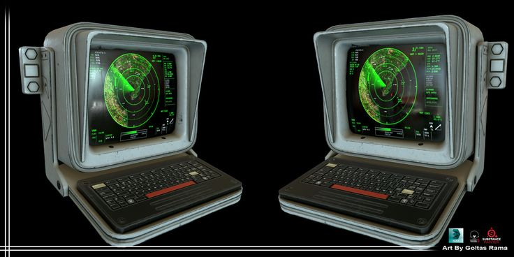 Computer Terminal, Goltas Rama on ArtStation at https://www.artstation.com/artwork/xx0qr