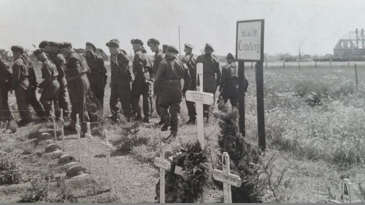 4 RWF Visit post WWII to 1st March 1945 Casualties.