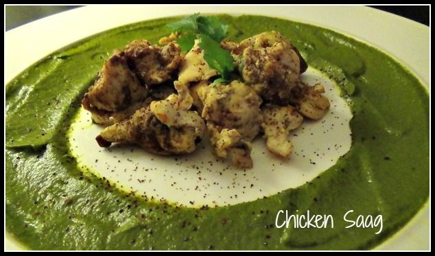 Conscious Cleanse - Guilt-Free Chicken Saag