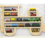 Lovely Etsy Wooden Wall Train Storage