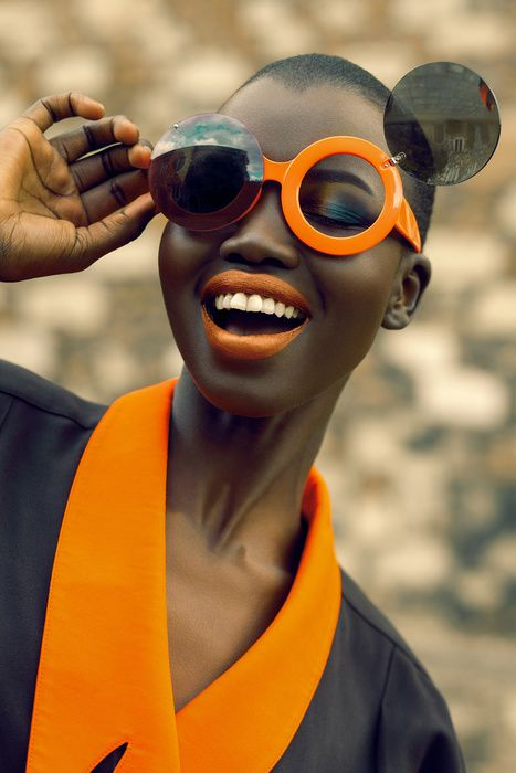 South Sudanese beauty, Nykhor Paul as shot byGabor Szantai.
