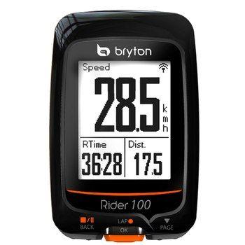 Bryton Rider 100 E GPS Fahrradcomputer - schwarz - Bike24