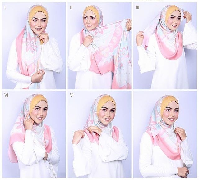 Beautiful Instant Hijab Tutorial - Video