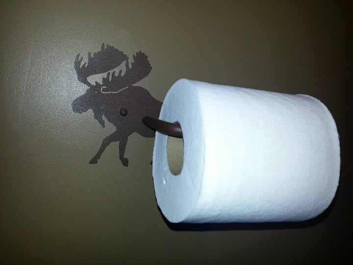 1000 images about moose toilet paper holder on pinterest Animal toilet paper holder