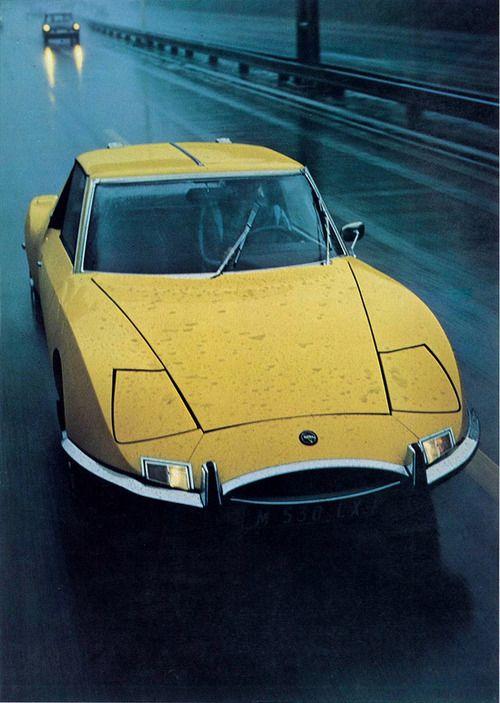 1967 Matra 530. - yellow car