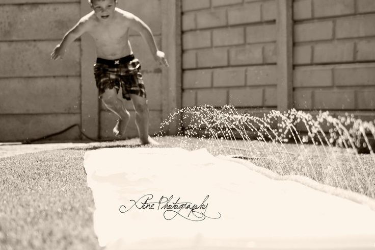 Fun in the sun. Child photography.