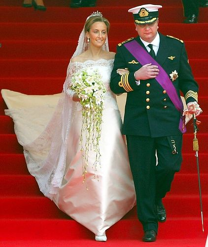 Prince Laurent and Princess Claire of Belgium