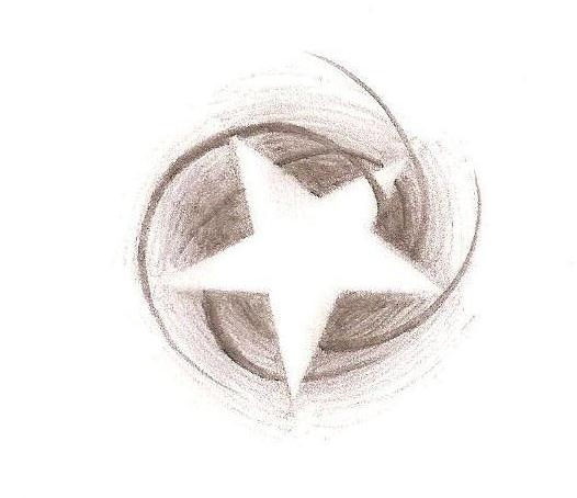 Pin Negative Space Star Sleeve Tattoo 124441jpeg On Pinterest