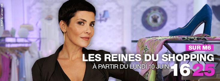Nouvelle émission Les Reines du Shopping avec Cristina Cordula sur M6
