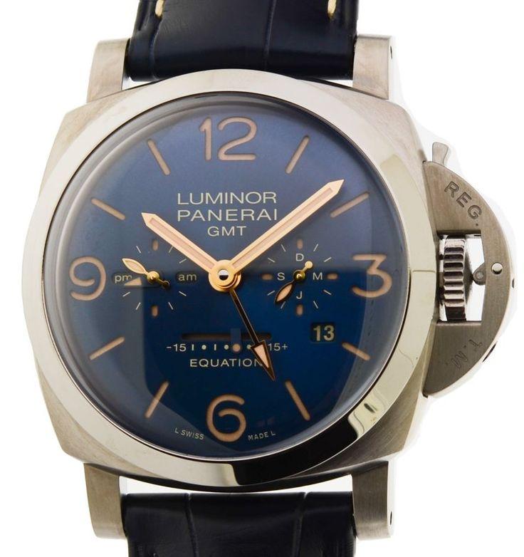 Panerai Luminor 1950 GMT Equation Of Time