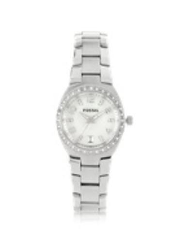 Fossil orologio in acciaio con cristalli  ad Euro 99.00 in #Gioielli orologi donna #Abbigliamento accessori