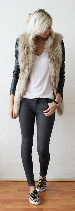 fur vest. chicwish.com