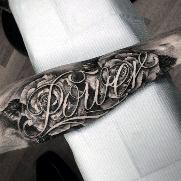 25+ Best Ideas About Forearm Name Tattoos On Pinterest