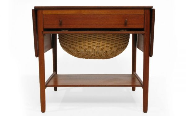 Hans Wegner Sewing Table. This would be perfect for my sewing room!
