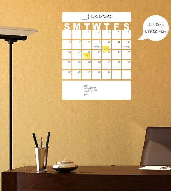 Fine Decorative Wall Calendars Dry Erase Inspiration - Wall Art ...