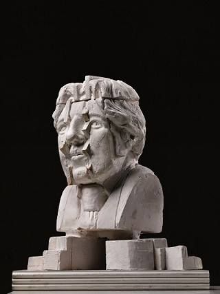 Monument for Oscar Wilde (unfinished project) by Eduardo Paolozzi - Museum Beelden aan Zee