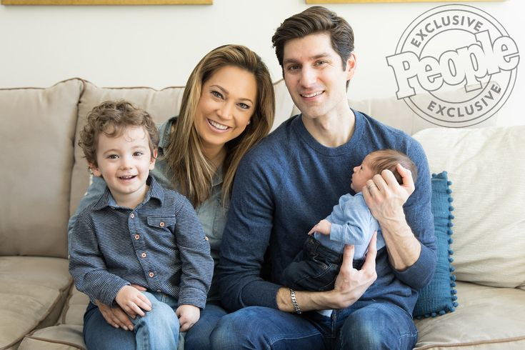 Baby Makes 4! See Ginger Zee's First Family Portraits with New Son Miles: 'Couldn't Be Happier'