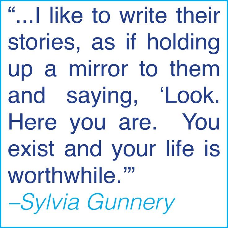 Sylvia Gunnery: Why I Write YA